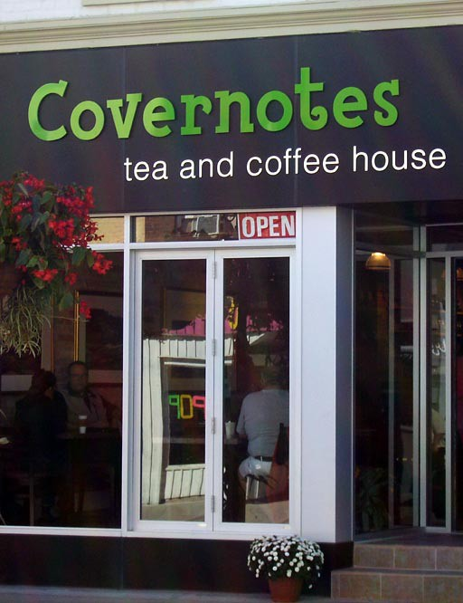 Covernotes Tea and Coffeehouse